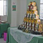 Kits natalinos foram distribuídos ao final da confraternização.