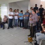 Diretor-geral do Campus EaD, Alexsandro de Oliveira abriu o evento.