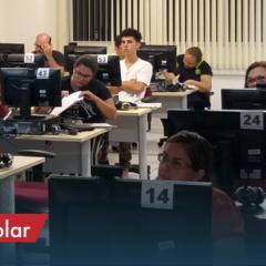 Curso Técnico em Secretaria Escolar realiza aula inaugural para 40 alunos